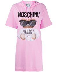 Moschino テディベア ワンピース Pink