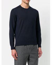 メンズ Z Zegna ラウンドネック セーター Blue