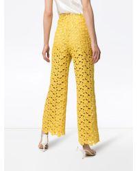 Rosie Assoulin ハイウエストパンツ Yellow