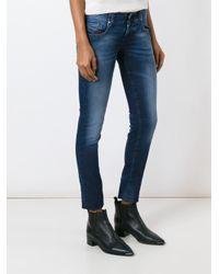 DIESEL Blue 'groupeene' Skinny Jeans