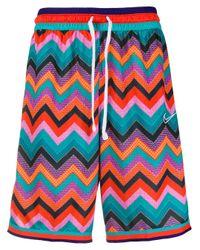Shorts con motivo a zigzag di Nike in Multicolor da Uomo