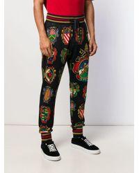 メンズ Dolce & Gabbana プレート トラックパンツ Multicolor