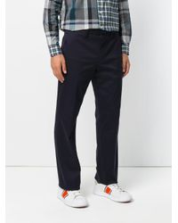 PS by Paul Smith Blue Tailored Trousers for men