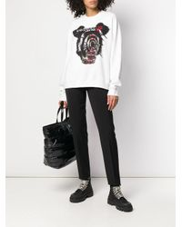 DSquared² プリント スウェットシャツ White