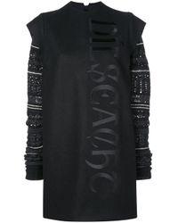 Vera Wang フェアアイル ドレス Black