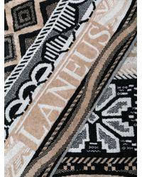Laneus - Brown Multi-print Beach Towel for Men - Lyst