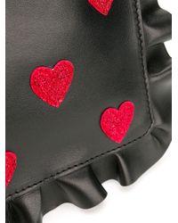 Pochette RED(V) Rock Ruffles RED Valentino en coloris Black
