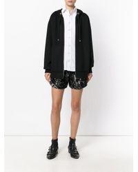 Alexander Wang Black Oversized Hoodie