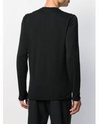 Transit Black Long Sleeved Knit Jumper for men