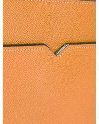 Porte-documents zippé Valextra pour homme en coloris Brown