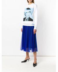 Calvin Klein Andy Warhol スウェットシャツ Blue