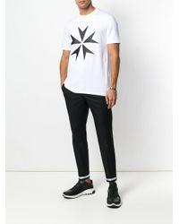 Neil Barrett T-Shirt mit Print in White für Herren