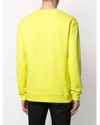 メンズ Frankie Morello グラフィック スウェットシャツ Yellow