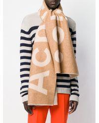 Acne Toronty ロゴ スカーフ Multicolor