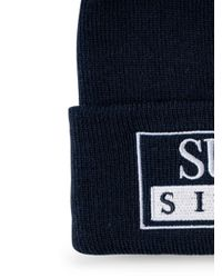 Supreme Blue Reserved Knitted Beanie