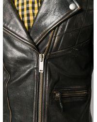 Golden Goose Deluxe Brand ライダースジャケット Black