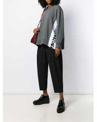 Stella McCartney ロゴ スウェットシャツ Gray