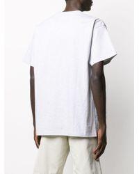 メンズ Carhartt WIP ロゴ Tシャツ Green