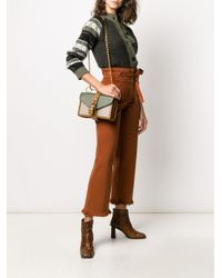 Chloé Aby チェーン ショルダーバッグ Green