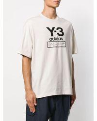 メンズ Y-3 ロゴ Tシャツ Multicolor