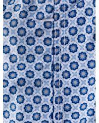 メンズ Fedeli Madeira トランクス水着 Blue