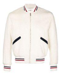 メンズ Saint Laurent ボンバージャケット White