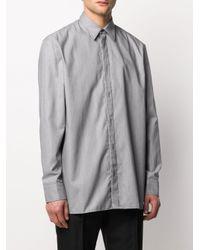 Chemise classique Maison Margiela pour homme en coloris Gray