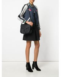 COACH - Black Courier Bag - Lyst