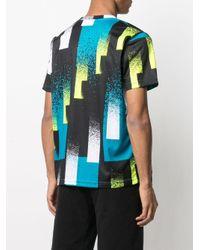 Nike Black Geometric Graphic Print T-shirt for men
