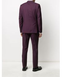 メンズ Paul Smith ツーピース スーツ Purple