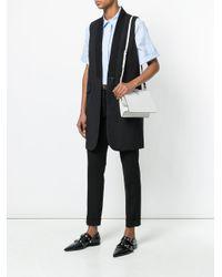 Prada - White Light Frame Shoulder Bag - Lyst