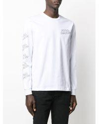 メンズ DIESEL Industry ロングtシャツ White