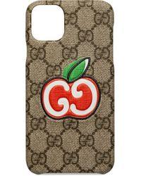 Чехол Для Iphone 11 Pro Max С Логотипом GG Gucci, цвет: Multicolor