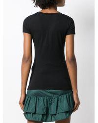 Love Moschino Black Logo Graphic Print T-shirt