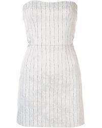 Vestito corto Hybrid Reality di Manning Cartell in White
