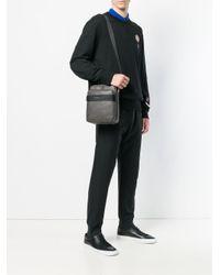 Versace Jeans Gray Logo Shoulder Bag for men