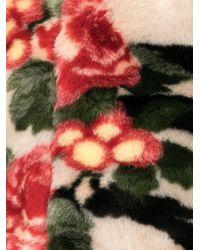 Shrimps Multicolor Eva Tiger Rose Clutch Bag