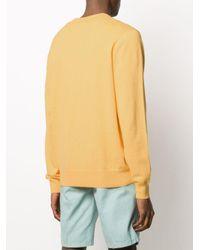 メンズ Hackett ロゴ プルオーバー Yellow