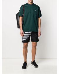 T-shirt Trefoil Adidas pour homme en coloris Green