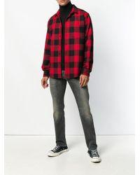メンズ R13 Skate スリムジーンズ Gray