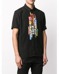 Chemise imprimé Shinjuku-Soho Neil Barrett pour homme en coloris Black