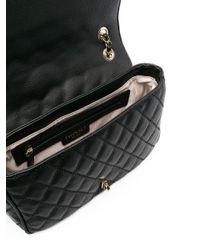 Twin Set Black Diamond-quilt Crossbody Bag