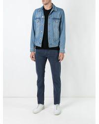 Jacob Cohen Blue Straight Trousers for men