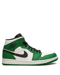 Кроссовки Air 1 Mid Se Nike, цвет: Green
