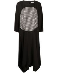 Henrik Vibskov Black Ion Central Print Dress