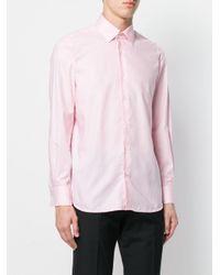 メンズ Fashion Clinic Timeless コットン シャツ Pink