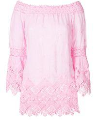 Temptation Positano Pink Britania Blouse