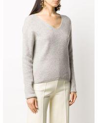 N.Peal Cashmere Vネック セーター Multicolor