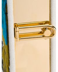 Olympia Le-Tan - White Caribbean Mistery Strapped Book Clutch - Lyst