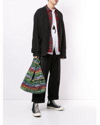 Yohji Yamamoto ロゴ トートバッグ Black